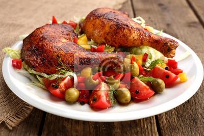 Plakat Świeży kurczak