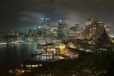 Plakat Sydney Noc