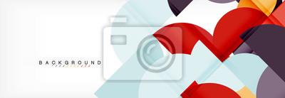 Plakat Szablon projektu prezentacji biznesowych, technologii lub broszury lub ulotki, lub geometryczne baneru internetowego
