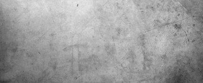 Plakat Szara betonowa ściana