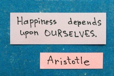 Plakat Szczęście zależy