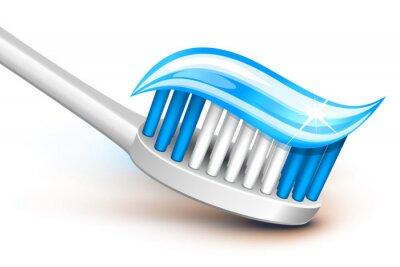 Plakat Szczoteczka do zębów