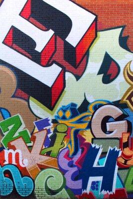 Plakat Sztuka ulicy / Alfabet