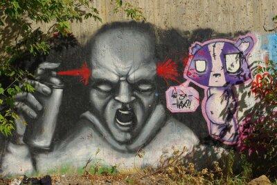 Plakat Sztuka uliczna