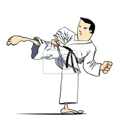 Sztuki Walki Karate Plakaty Redro