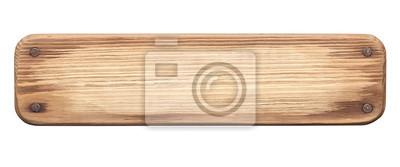 Plakat Tamtejsze Zarząd drewna z gwoździami