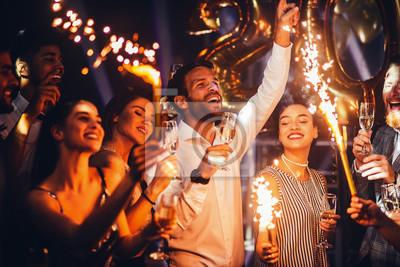Plakat Tańcząc do Nowego Roku
