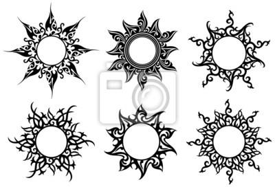 Plakat Tatuaż Ornamenty Na Wymiar Nowoczesny Gwiazda
