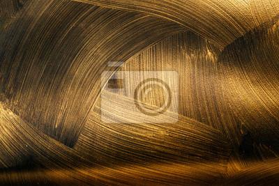 Plakat tekstura czarnego złota. Streszczenie bezszwowych tekstur. Fraktalna sztuka tło dla kreatywnego projektowania. Ozdoba do tapety na pulpit, plakatu, okładki, karty. Psychodeliczny.
