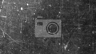 Plakat Tekstura stara powierzchnia na czarnym tle z białymi narysami