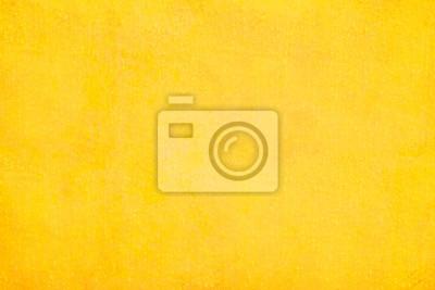 Plakat Tekstury i tła żółtej ściany betonowej ..