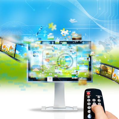 Plakat Telewizor strumieniowe
