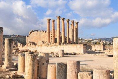 Plakat Temple of Artemis - Jerash, Jordan