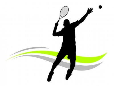 Plakat Tenis - 145