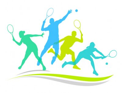 Plakat Tenis - 170