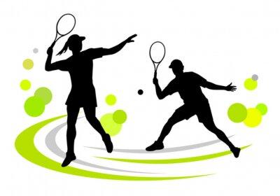 Plakat Tenis - 171