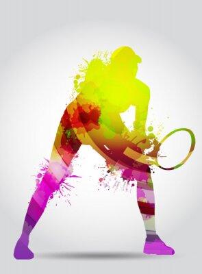 Plakat Tenis, Competizione, Torneo