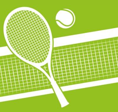 Plakat Tenis sportu gry