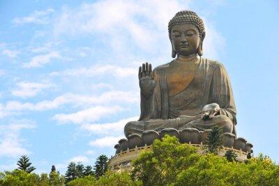 Tian Tan Buddha w Hongkongu.