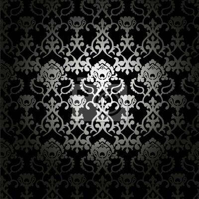 Tissus noir et blanc