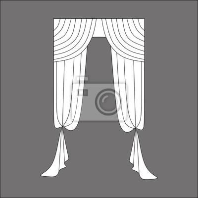 Plakat Tkaniny Wnętrza Dekoracji Okna Zasłony Na Wymiar