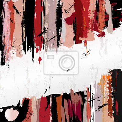 Plakat tła, malowania kresek, z miejsca na tekst