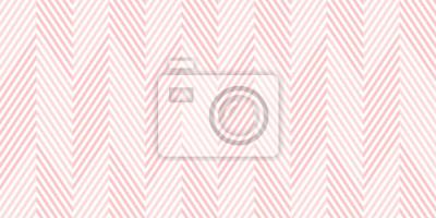 Plakat Tło wzoru szewronu bezszwowe menchie i biały geometryczny abstrakcjonistyczny wektorowy projekt.
