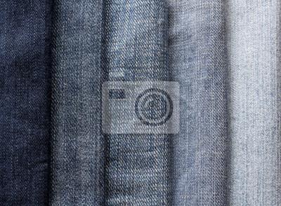 tło z paskami niebieskie dżinsy w różnych odcieniach i jasności