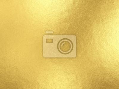 Plakat Tło złota folia z odbicia światła