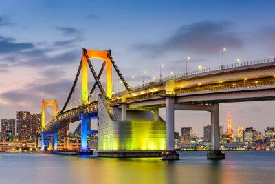Plakat Tokio na Tęczowy Most