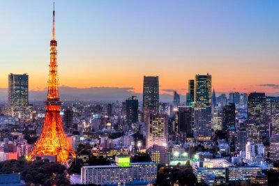 Plakat Tokyo, Japan.