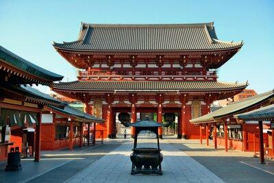 Plakat Tokyo temple