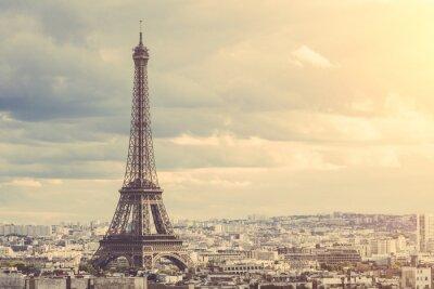 Plakat Tour Eiffel w Paryżu