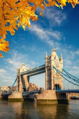 Plakat Tower bridge in London