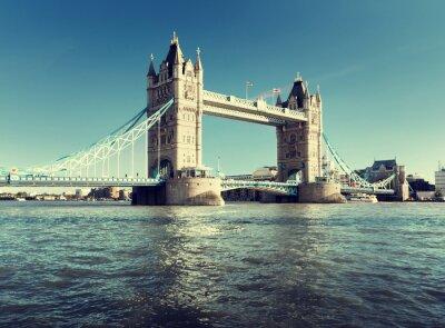 Plakat Tower Bridge in London, UK