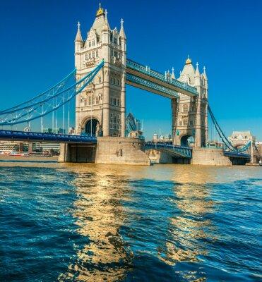 Plakat Tower Bridge, Londyn, Wielka Brytania