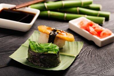 Plakat Tradycyjne japońskie sushi