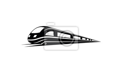 Plakat Train vector