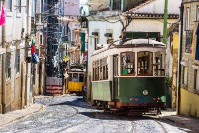 Plakat Tramwaj w Lizbonie