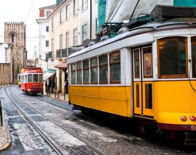 Plakat tramwaje