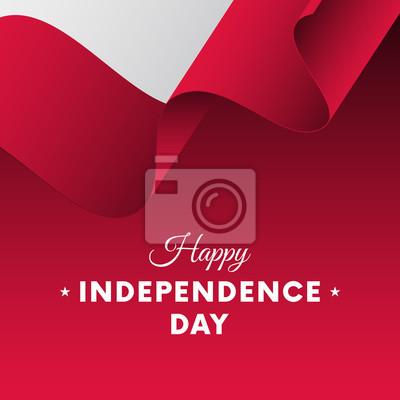 Plakat Banner Lub Plakat Obchodów święta Niepodległości