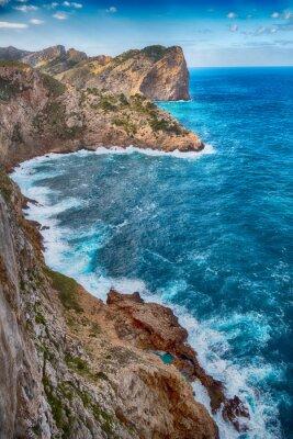 Plakat Traumhafte Küste - Cap Formentor na Majorce