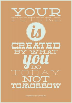 Plakat Twoja przyszłość