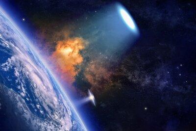 Plakat Ufo explores planet Earth
