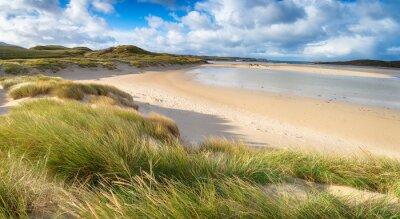 Plakat Uig Sands w Szkocji
