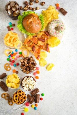 Plakat Unhealthy Eating