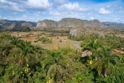 Plakat Vallée de Vinales, patrimoine Mondial UNESCO, Kuba