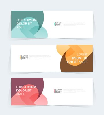 Plakat Vector abstract graphic design Banner Pattern background web template.