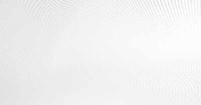 Plakat Vector background with white abstract wave dots