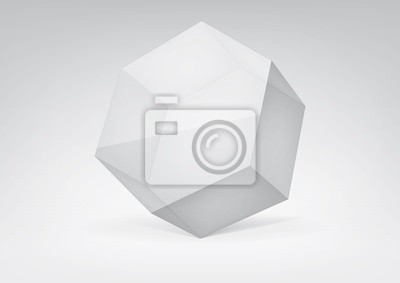 Vector przejrzysty heksagonalny do projektowania graficznego